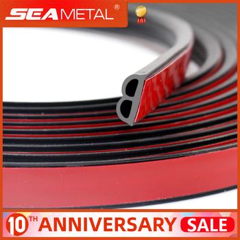 Gumowe paski uszczelniające do drzwi samochodowych uniwersalne uszczelniacze uszczelniające typu B izolacja akustyczna uszczelnienie akcesoria do wnętrz samochodowych tanie i dobre opinie SEAMETAL rubber Wypełniacze Kleje i uszczelniacze soundproof C37200 B type seal strip 4m 5m 16m 25m universal for all the cars