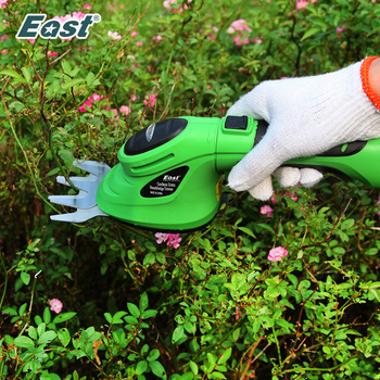 East 3.6V Li-Ion Cordless Electric Hedge Trimmer Grass Cutter Mini Lawn Mower Rechargeable Battery Garden Tool ET2903C free shipping robot lawn mower auto grass cutter intelligent mower lithium battery auto recharge garden tool