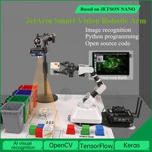 Hiworder Lobot Jetarm Robotarm Jetson Nano Kunstmatige Intelligentie Ai Visuele Herkenning Robot Afval Sorteren Systeem