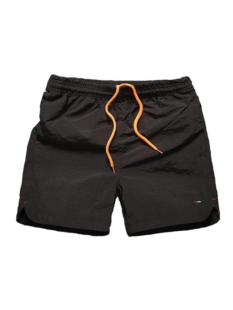 Summer Beach   Short   Men Side Pocket Solid Drawstring Plus Size   Board     Shorts   Beach Pants Swim   Shorts   Men Swimwear Swimming Trunk
