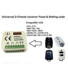 Rx multi 300-868mhz ac dc 9-30 v receptor para gt2 mio tr2 868mhz controle remoto 433mhz abridor bom