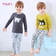 Boys Pajamas Sets 2-10Years Pyjamas kids Cartoon Nightwear Children Clothes Pijamas Clothing