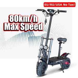 Off-Road-Tire Scooter-Scooter Iron-Frame Dual-Motor Electric Seat 11inch with Package
