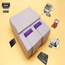 цена на HDMI Retro Game Console with TF Card Slot for Snes For Nes For Sega Megadrive For GBA Support Save & Load
