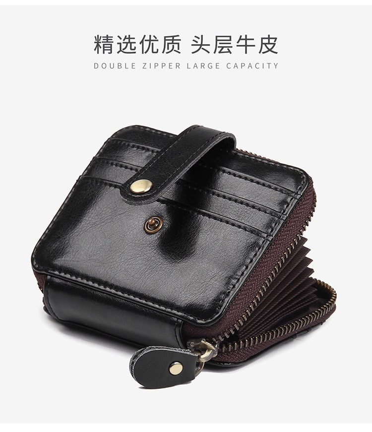 Card Holder Card Holder Credit Card Case Coin Purse Leather Card Holder