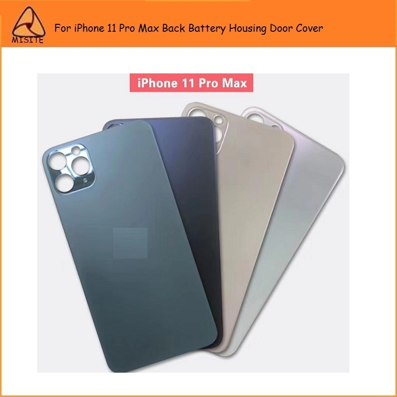1PC Brand New Glass Housing Rear Cover For iPhone 11 Pro Max Back Battery Cover Rear Door Housing Case Replacement