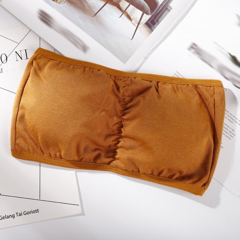 Women's Intimates Tube Tops Bras Ladies Breathable Non-slip Strapless Wrapped Chest Underwear Female Strapless Bra