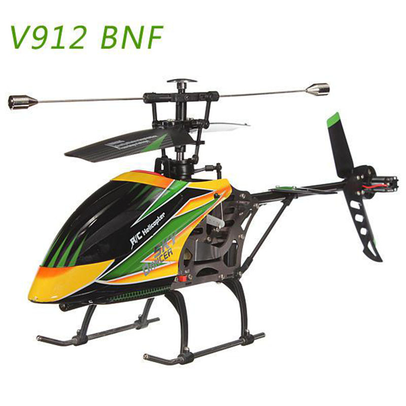 WLtoys V912 Sky Dancer 4CH RC Helicopter With Gyro BNF EU Standard Without Remote Control