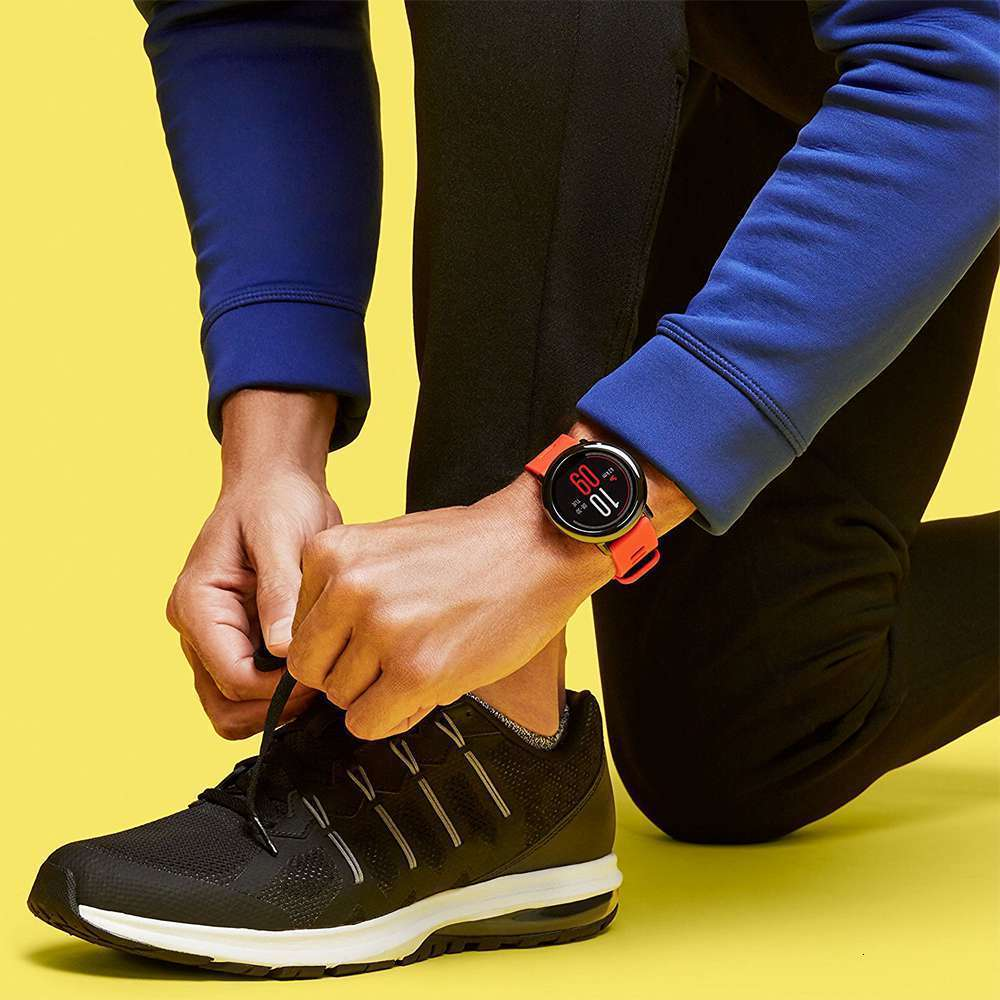 HUAMI AMAZFIT PACE SMART WATCH GPS SMARTWATCH  WEARABLE DEVICES SMART WATCHES ELECTRONICS FOR XIAOMI PHONE IOS 36