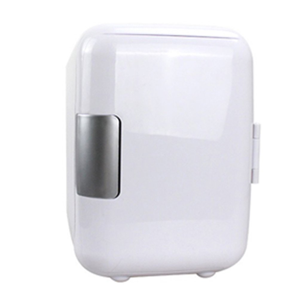 4L Car Refrigerator Car Portable Dual-Use Refrigerator Heating And Cooling With Cup Holder Professional