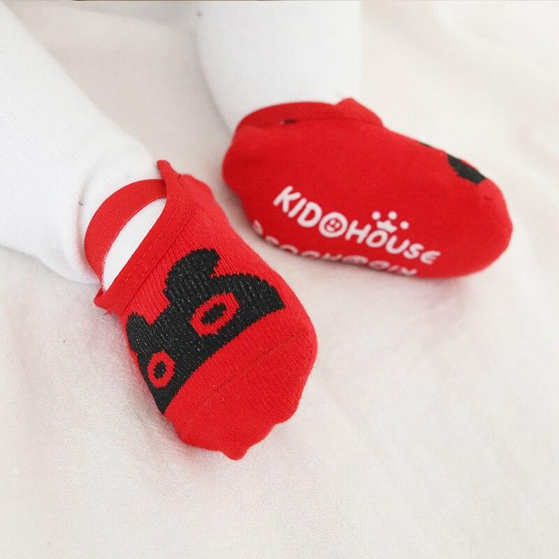 Baby Anti-slip Socks Boy Girl Newborn Infant Winter Sock Children Cotton Non Slip Cartoon Animal Warm Sock Sneakers Cheap Stuff