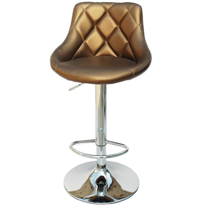 European Bar Chair Lift   High Stool Manicure Shop Makeup  Backrest Rotating Cabinet Front Desk Cashier