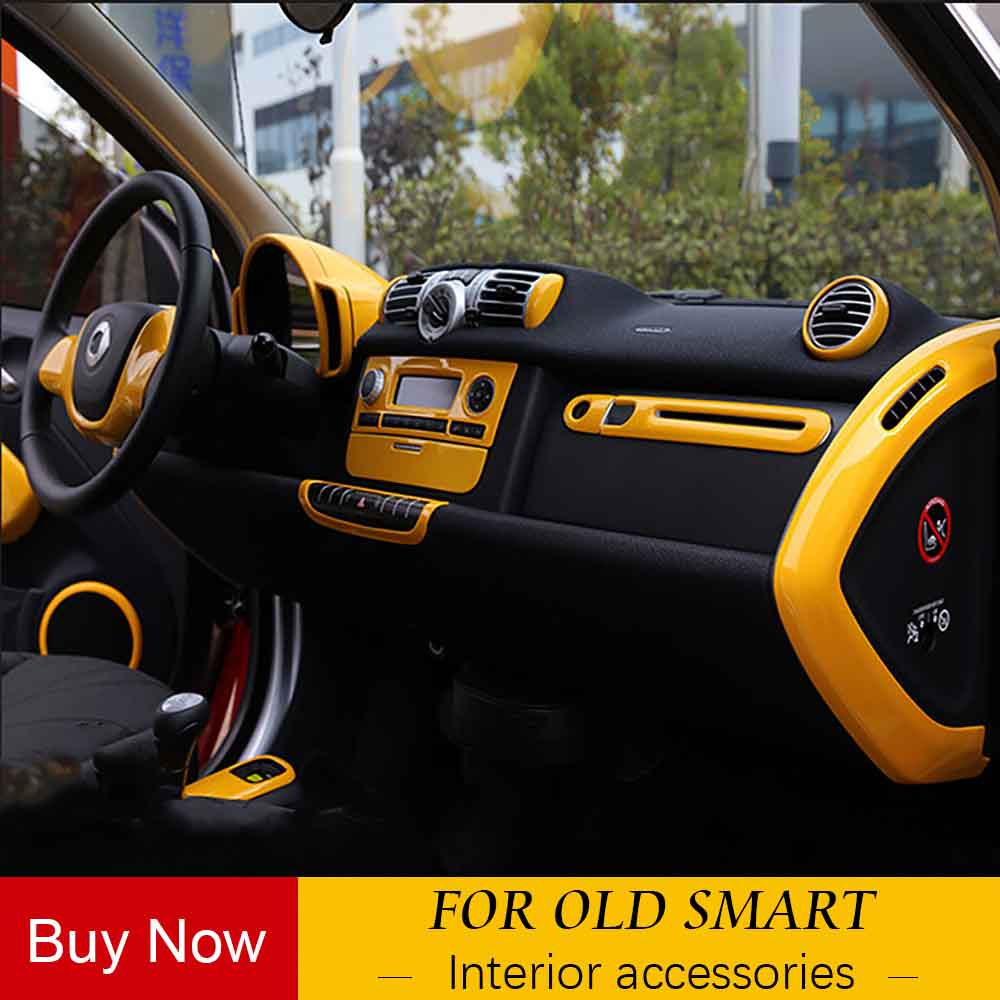 Colorful Decoration Car Interior Decoration Moulding The Whole Body Vehicle Sticker Mercedes Smart 09-2014 Smart Fortwo 451