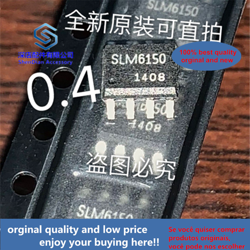 10pcs 100% Orginal And New SLM6150 SOP8Lithium-ion Battery Charging Chip, Available In B File  Best Qualtiy