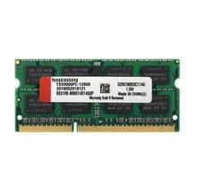 Yongxinsheng DDR3L RAM 4GB 8GB 1600 MHz SODIMM PC3L-12800 Laptop Memory 204 Pin 1.35V green