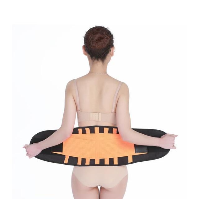 Waist Trainer Belt Support for Women & Man Waist Cincher Trimmer Weight Loss Ab Belt Slimming Body Shaper Sweat Belt 2