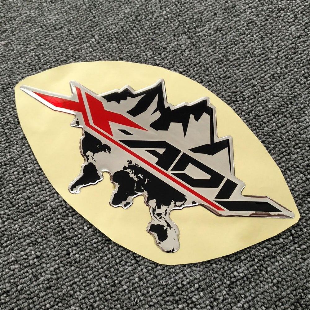 For HONDA XADV X Adv 750 X-adv X-ADV 750 3D Logo Side Panel Sticker Motorcycle Stickers Tank Pad Fuel Protector Fairing Emblem