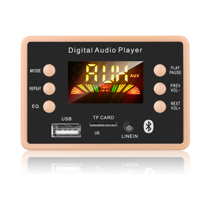 Image 1 - Nowa płyta modułu dekodującego dekodera MP3 12V Bluetooth 5.0 samochodowy odtwarzacz MP3 USB WMA WAV obsługa karty TF moduł zdalnego sterowania USB FM
