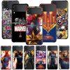 Smartphone Case For Samsung Galaxy Z Flip3 5G Z Flip 3 z flip ZF 5G Cover PC Capa Hard Funda Coque Captain Marvel Hero