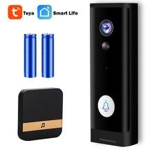 Tuya WiFi kapı zili kamera güvenlik kapı zili kamerası açık 1080P Video kapı zili akıllı kablosuz kapı zili gece görüş PIR alarmı