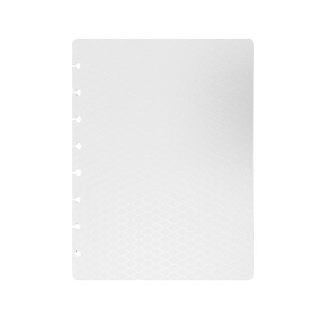 Séparateur A5 Reliure à Disques discbound planner seperator - blanc