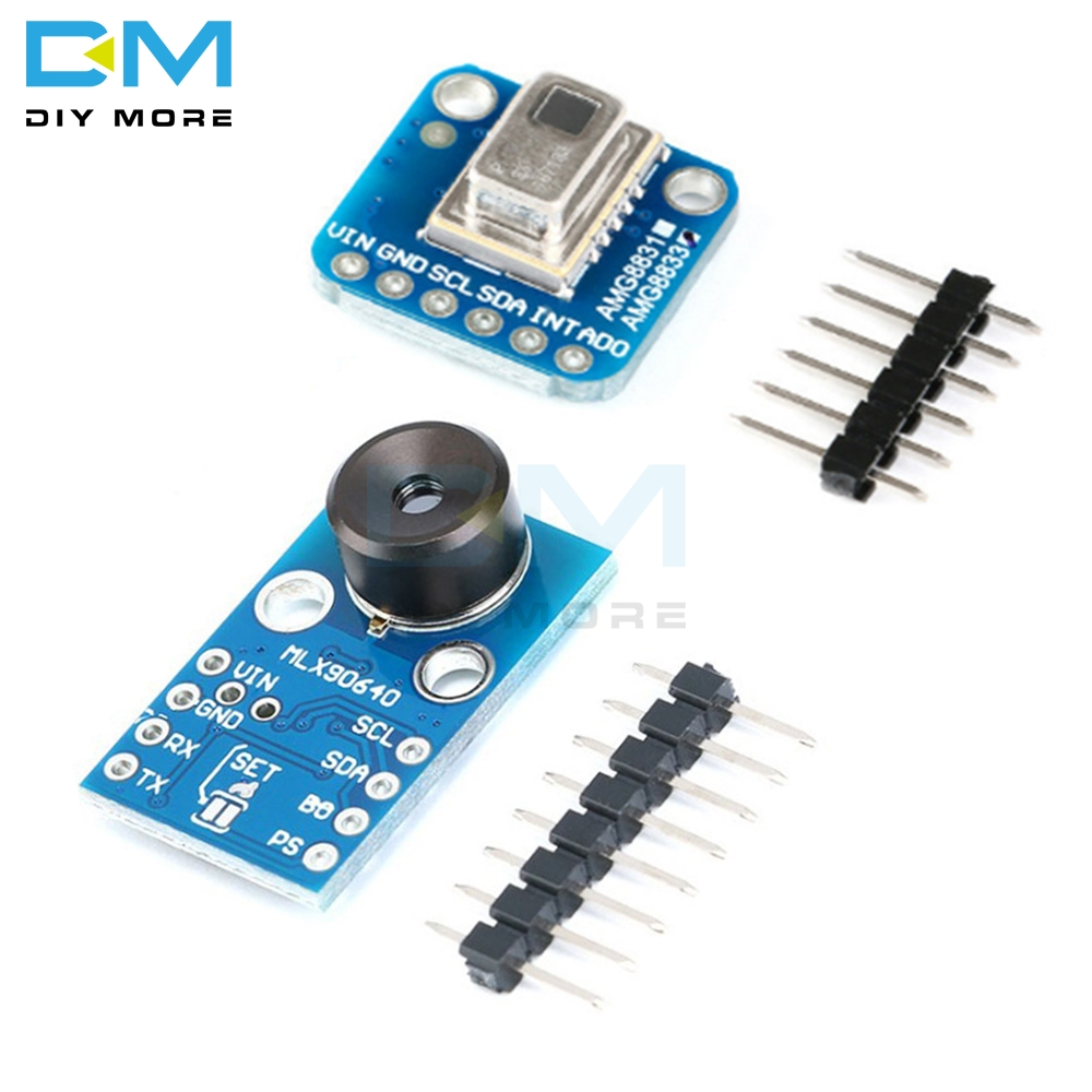 AMG8833 IR 8*8 Thermal Imager Array Temperature Sensor Module MLX90640 32x24 Infrared Camera Sensor Board