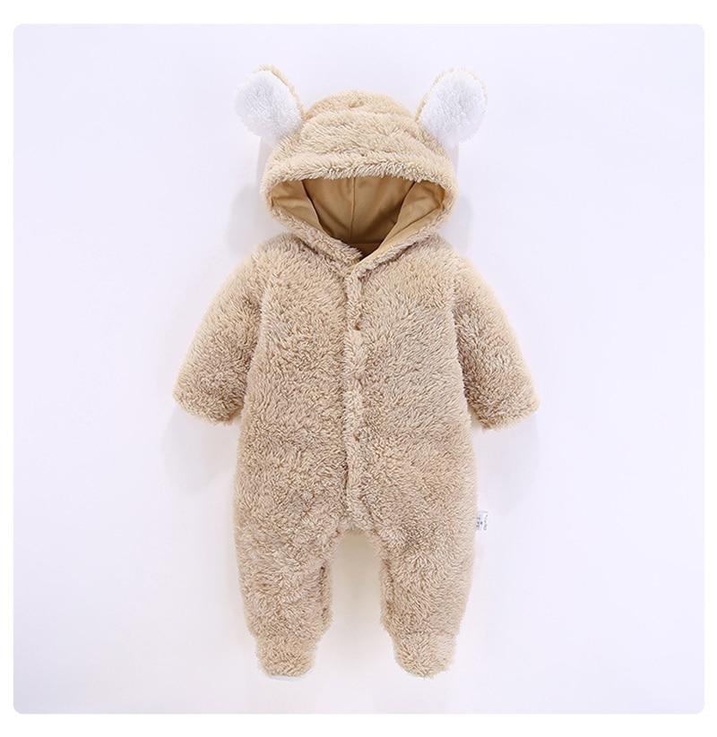 Детские комбинезоны зимняя одежда с длинным рукавом для маленьких