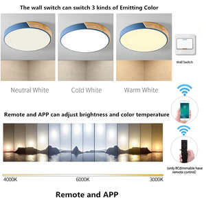 Image 4 - Moderno LED Luce di Soffitto Luminaria LED Teto Colorato Lampada A Soffitto Per Soggiorno camera Dei Bambini Camera Corridoio Apparecchi di Casa di Luce