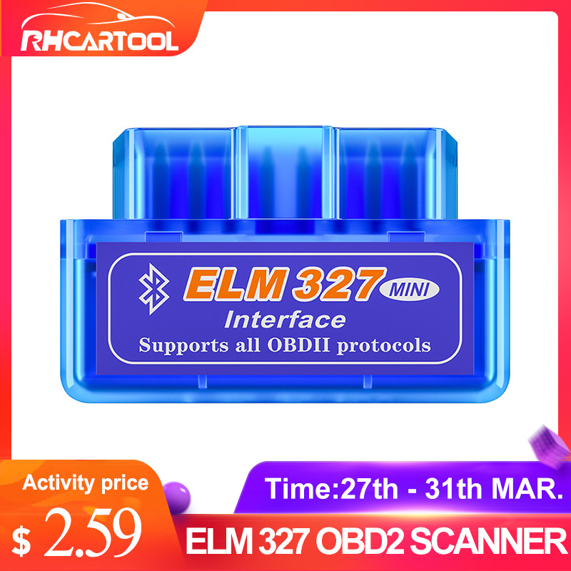 ELM327 OBD2 Car-Accessories Car-Diagnostic-Tool Auto-Scanner Bluetooth Android/symbian title=