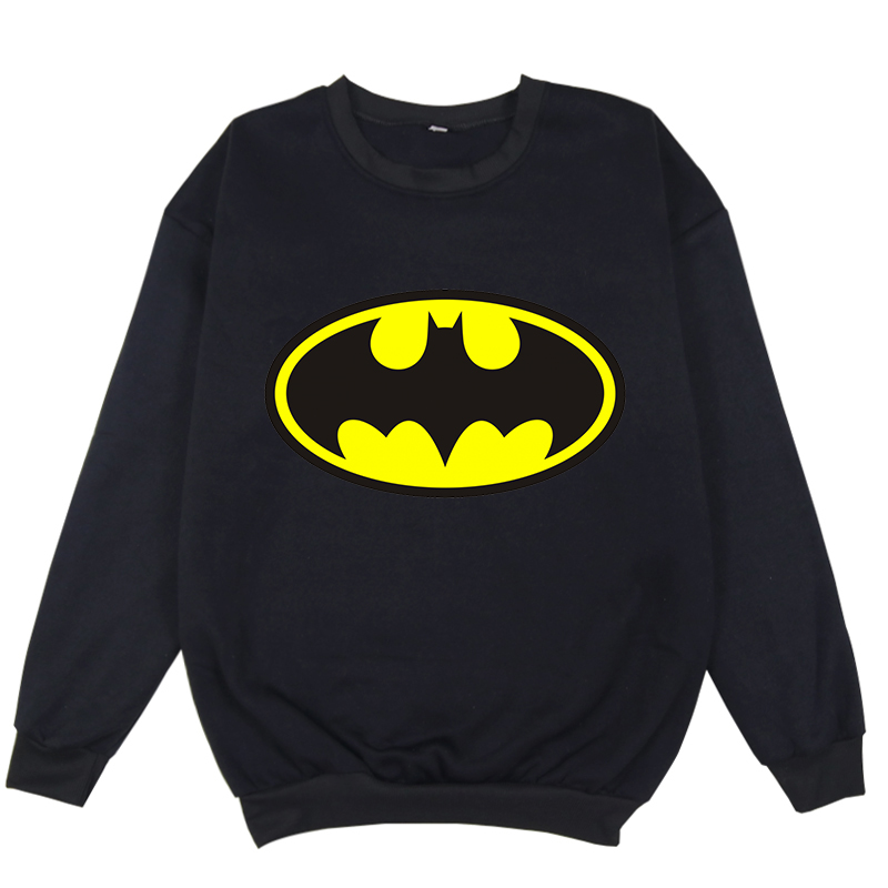 Luminous Batman Fleece Hoodies Men Harajuku Sweatshirt Women Pink Hoodies Hip Hop Streetwear Clothing Winter Clothes For Girls