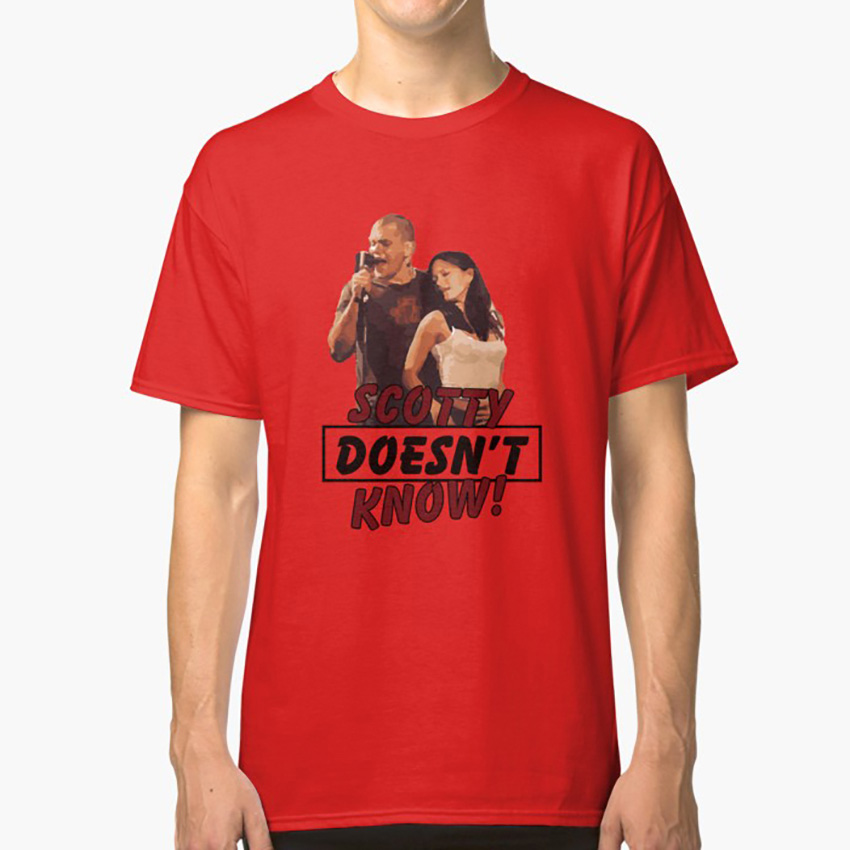 Eurotrip Scotty Doesn't Know! T Shirt Eurotrip Matt Damon Humor Movie Humor Movie Quotes Quotes Songs image