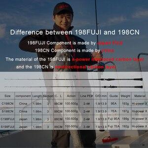 Image 2 - Obeiマスター海ボート遅いジギング釣竿100〜500グラムトラベルスピニングキャスティング富士はロッド30 80IB