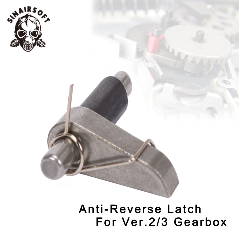 SINAIRSOFT Anti-Reverse Latch For Element SHS Target Shooting Airsoft Paintball AEG Anti-Reverse Reverse Gearbox Ver 2, 3