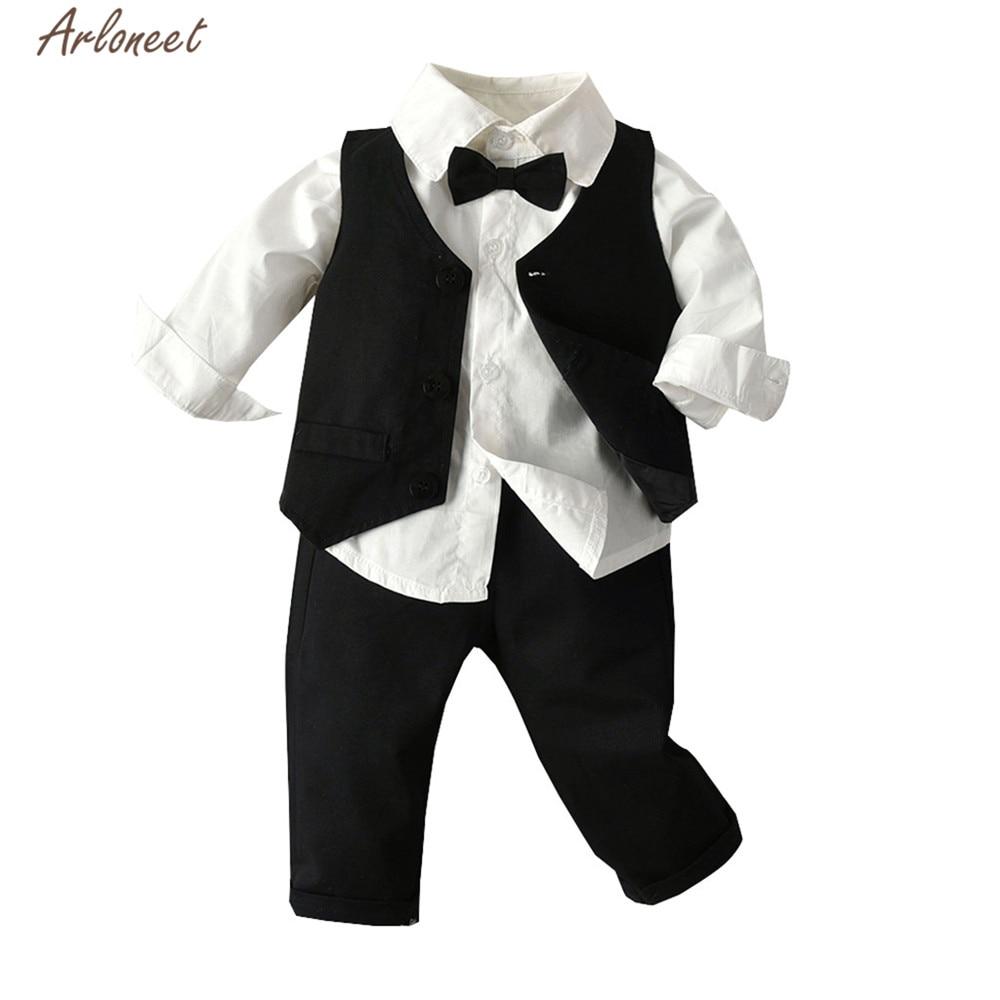 Funny Baby Grow Tuxedo Boy Babies Clothing Cool Fun Gift 6-12 Months Black