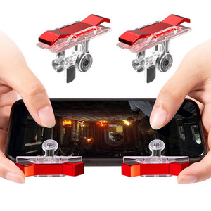 D9Mobile Game Controller Gamepad plastic L1R1 keypads Phone Joystick Sensitive Shoot and Aim Triggers mobile controller for pubg