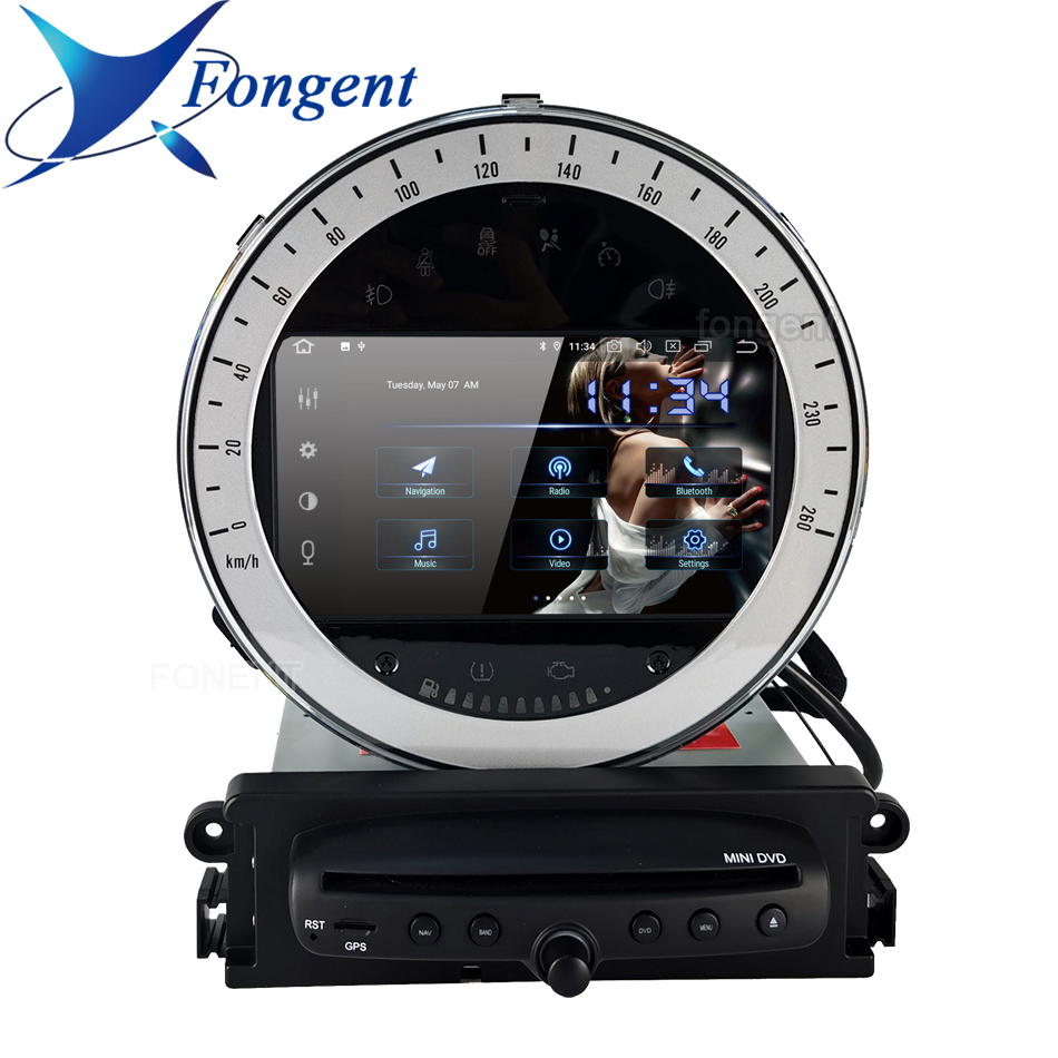 For Bmw Mini Cooper R56 2006 2007 2008 2009 2010 2011 2012 2013 Dsp Carplay Android Gps Map Car Dvd Multimedia Player Rds Radio