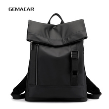 High Capacity Oxford Cloth Business Laptop Backpack Roomy Anti-theft Comfortable Men And Leisure Women