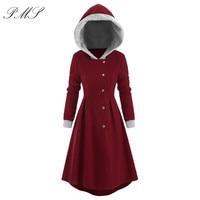 Women Winter Warm Coat Female Autumn Hooded Cotton Hooded Long Sleeve Coat Basic Jacket Outerwear Slim Long Ladies chaqueta D25