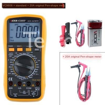 Germany imported multimeter digital multimeter 4 and a half VC9806+ high precision multimeter frequency