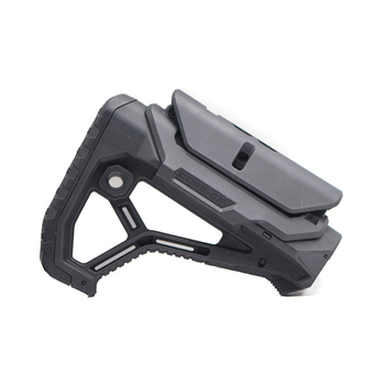 Nylon Stock GL-CORE Style For AR14 M4 M16 AKGel Blaster Paintball Airsoft Air Guns Accessories AEG Gen9 Gearbox Receiver Hunting vulpo 3pcs lot high strength plastic double o ring air seal m4 nozzle cross style for airsoft aeg m4 hunting accessories