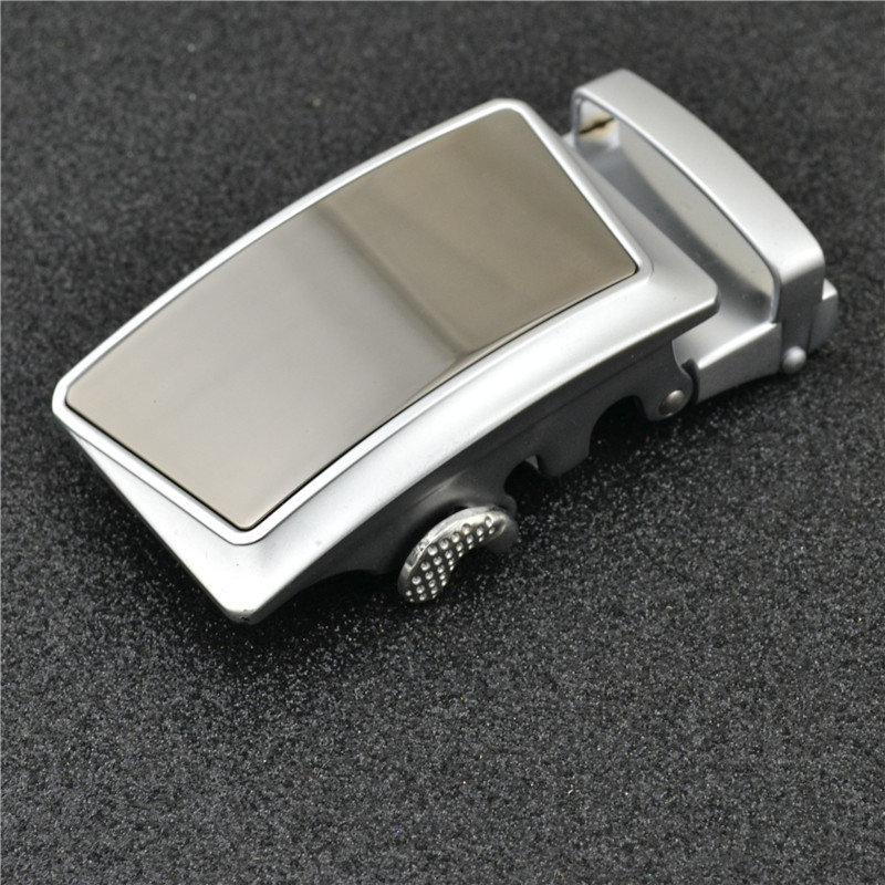 Automatic Belt Buckle For Men Designers High Quality Alloy Material Suitable For Jeans Width 3.5cm Genuine Leather Youth Boys
