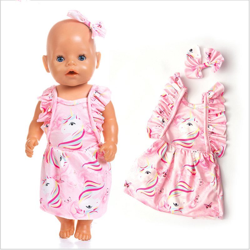Doll Clothes Dress Wear For American Girl For Born Baby Reborn 18 Inch Toy Gift