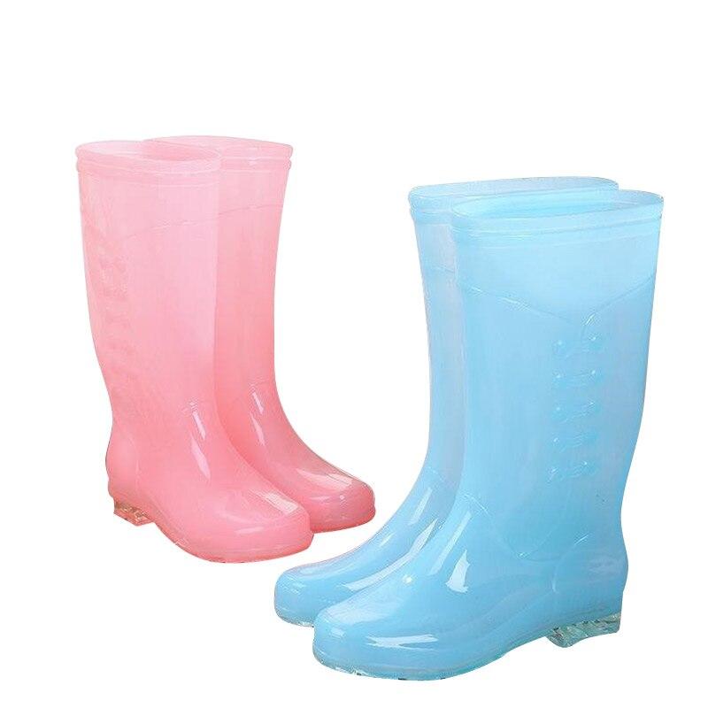 Купить женские высокие туфли с защитой от дождя нескользящие утолщенные