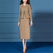 Женский деловой костюм пиджак деловая офисная одежда винтажный