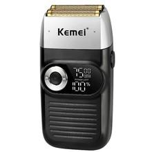 Rasoir électrique professionnel en papier aluminium pour homme,tondeuse à moteur rotatif pour nettoyage des poils, outil de soin et de rasage des cheveux de la tête,