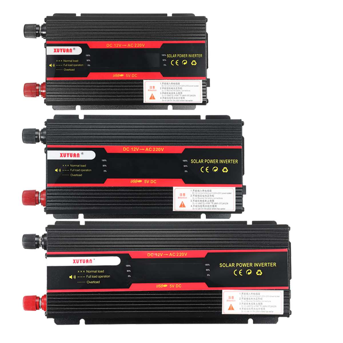 Car Inverter 12V 220V 6000W Pe ak Power Inverter Voltage Convertor Transformer 12V/24V To 110V/220V Inversor + LCD Display 18