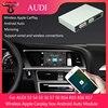 Bezprzewodowy Apple Carplay pudełko Android Auto moduł dla Audi S3 S4 S5 S6 S7 S8 RS4 RS5 RS6 RS7 MMI2 -3G RMC MIB system multimedialny