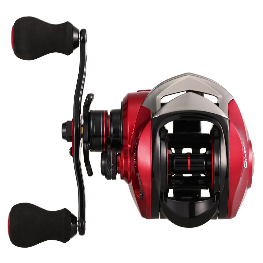Spinning Fishing Reel 9+1 BB 6.3:1 High Speed Baitcasting Reel 8KG Max Drag Carp Fishing Reel Wheels Tackle With Storage Sack image