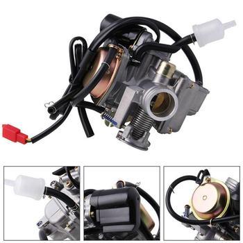 Skuter gaźnik 50cc skuter GY6 czterosuwowy z ulepszonym silnikiem odrzutowym skuter zmodyfikowane części tanie i dobre opinie CN (pochodzenie) 120 0000mm China 140 0000mm aluminum alloy 0 7kg Carburetor 14*12*12cm 0 778kg for ESSGOO 50cc scooter carburetor