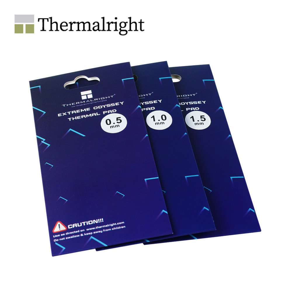 Thermalright ODYSSEY Thermal Pad , Non-Conductive GPU Card Water Cooling Thermal Mat 12.8W/mk 85x45mm 0.5mm/1.0mm/1.5mm/2.0mm 1